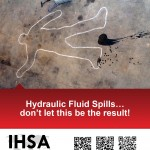 Hydraulic Fluid Spillls A