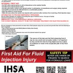 Fluid Injection Injury